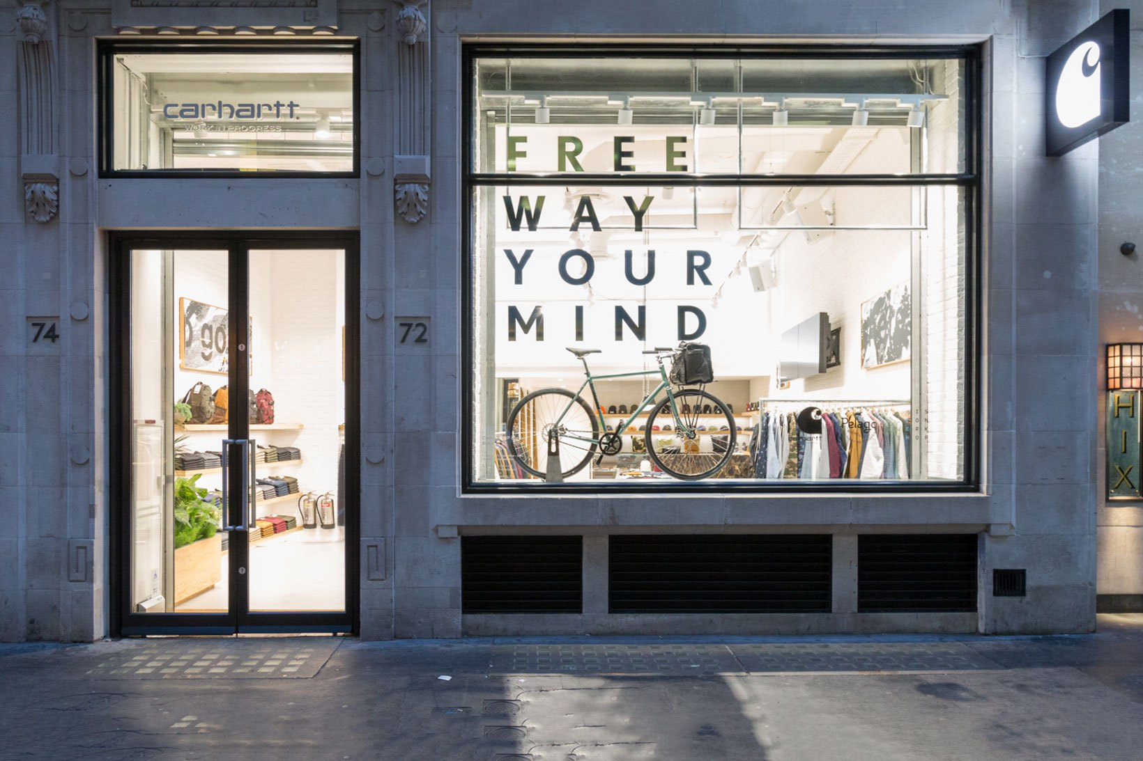 a4f086f7cd Take a Look at the Carhartt WIP Store in London Before It Opens .